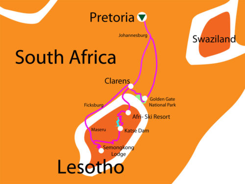 5 Day SG Lesotho Tour