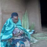 Sotho Lady Weaving