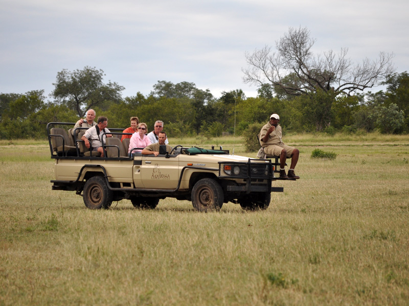 Luxury Safari Package includes all Game Drives