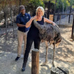 Jo-at-the-Ostrich-Farm